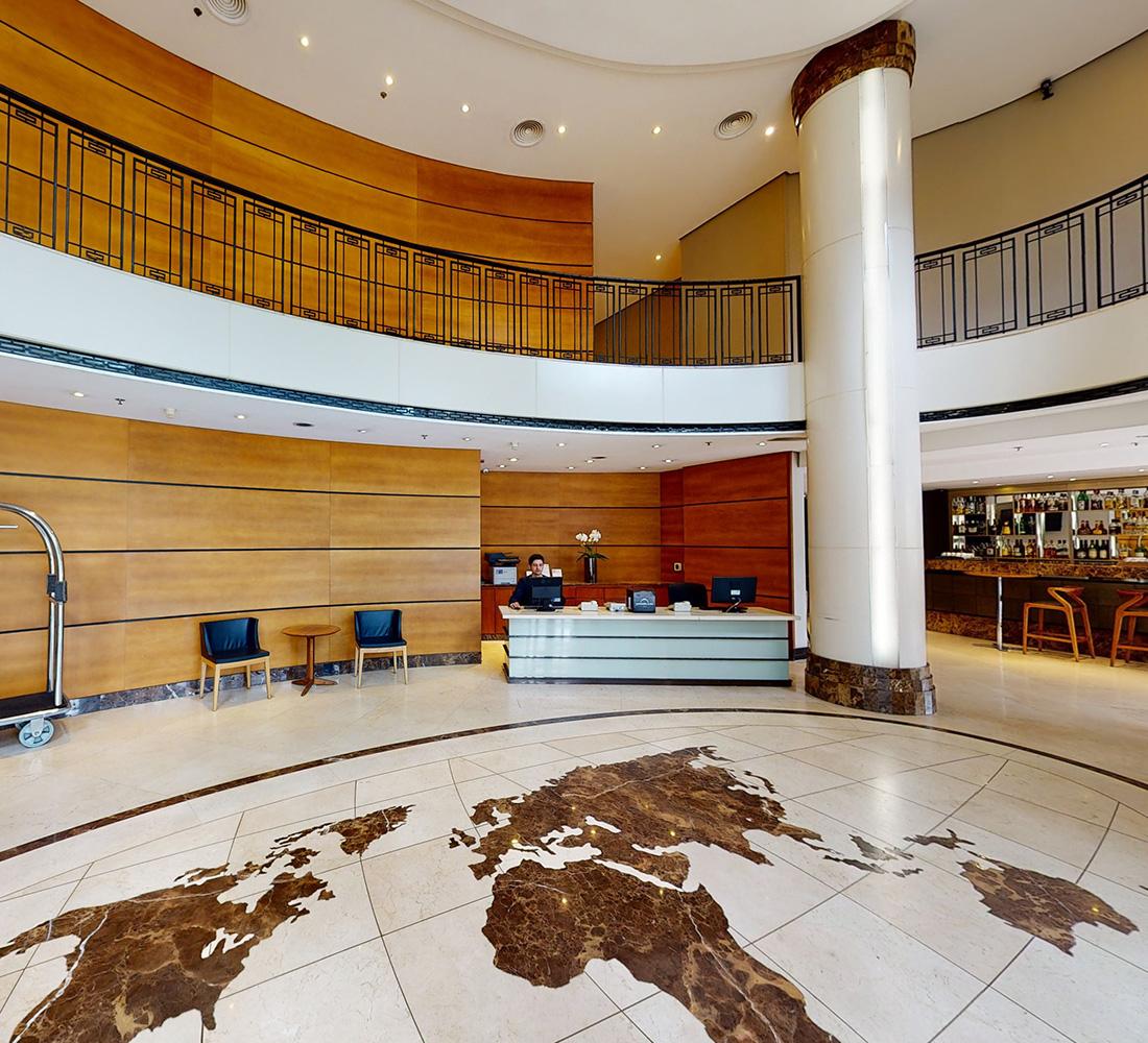 Lobby Estanplaza Funchal Faria Lima